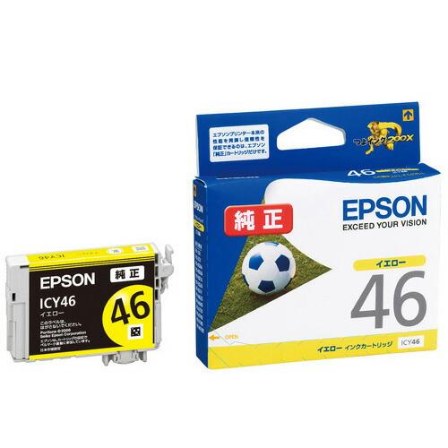 【新品】(エプソン) EPSON ICY46 インクカートリッジイエロー EPSON