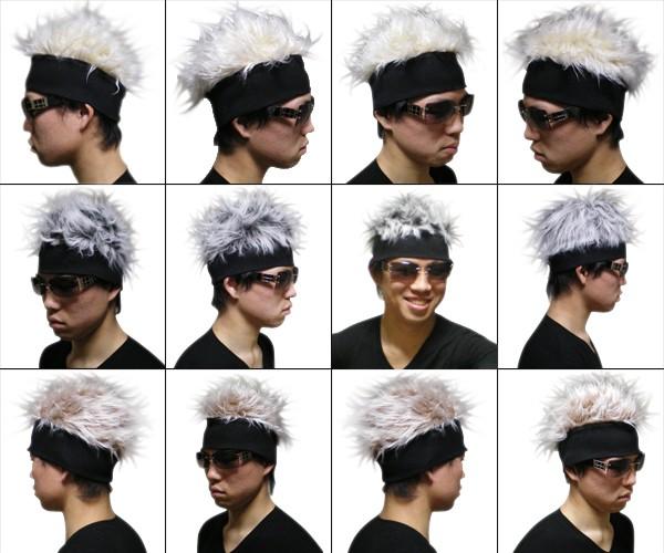 ファー帽の使用例