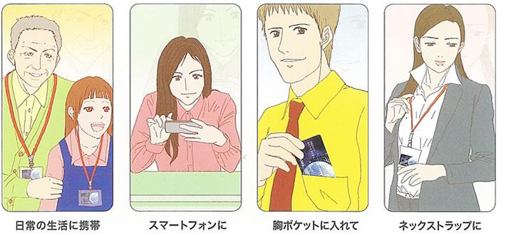 スマートフォンなどの電磁波対策NTEコスモカード