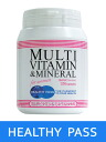 Healthy pass (HEALTHY PASS) multivitamin & mineral woman use