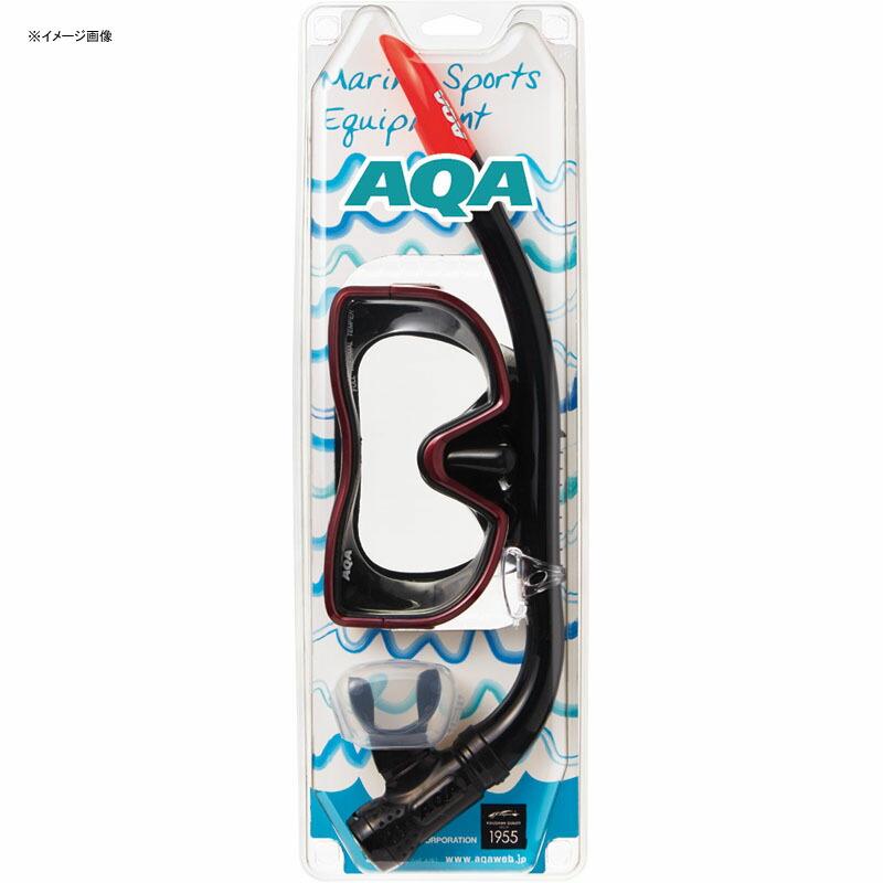 AQA(エーキューエー)アクアメビウスライト&サミーVライトII2点セットメンズ用ブラック×ワインレッドKZ-9071N