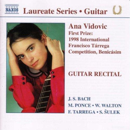 期待の新進演奏家リサイタル・シリーズ/ アナ・ヴィドヴィッチ(ギター)
