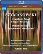 シマノフスキ(1882-1937): 交響曲 第3番&第4番