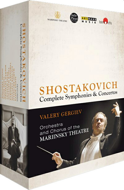 ゲルギエフ&マリインスキー劇場管弦楽団  ショスタコーヴィチ(1906-1975): 交響曲全集+協奏曲全集[DVD 8枚組 Box]