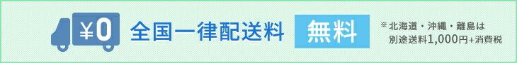 全国一律送料無料(沖縄・北海道・離島は1000円)