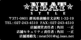 NEAT STYLE