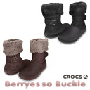 Clocks (CROCS) Berri ESSA buckle synthetic Lady's boots (CROCS Berryessa Buckle Synthetic)