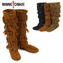 Five steps of MINNETONKA 5Layer Fringe Long Boots Mine Tonka fringe suede long bootses