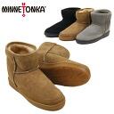 Minnetonka (MINNETONKA) アンクルハイパグ boots (Ankle Hi Pug Boot)