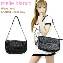 melie bianco Woven And Knotted Chain BAG Mary Bianco chain shoulder handbag