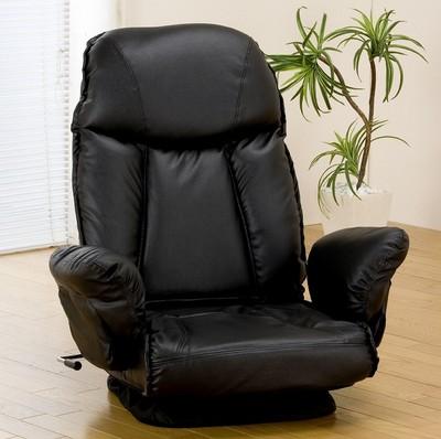 肘付き回転座椅子