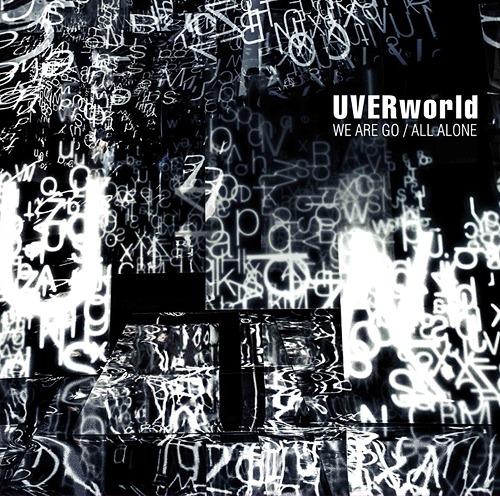 WE ARE GO / ALL ALONE [DVD�ս������������][CD] / UVERworld