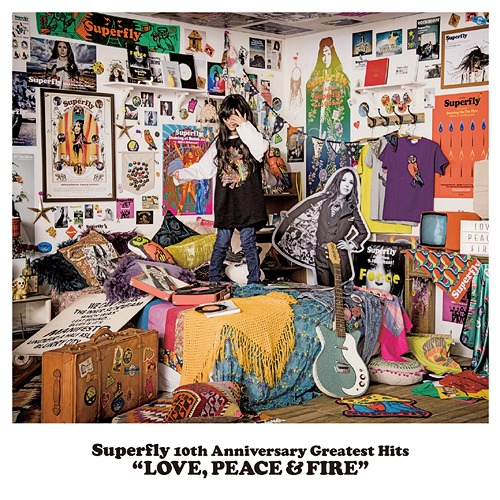 Superfly 10th Anniversary Greatest Hits『LOVE PEACE & FIRE』 [初回限定盤][CD] / Superfly