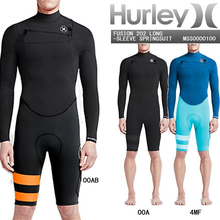 HURLEYFUSION202LONG-SLEEVESPRINGSUITMSS0000100ウェットスーツ水着ハーレーフュージョンスプリングスーツタッパー