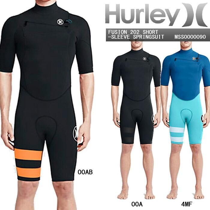 HURLEYFUSION202SHORT-SLEEVESPRINGSUITMSS0000090ウェットスーツ水着ハーレーフュージョンスプリングスーツタッパー