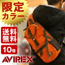 It is a bag body bag commuting bag at Avi Rex AVIREX shoulder bag body bag avx305LE men red-throated loon Rex man one shoulder military bias