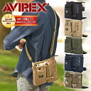 Avirex AVIREX shoulder bag also bag waist bag 2-way shoulder bag avx342 men's military hip bag bags men's West porch