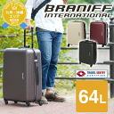 A suitcase carry hardware traveling bag! Braniff International BRANIFF INTERNATIONAL suitcase 64L bbt25z-24 men gap Dis [mail order]