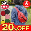 Chums CHUMS! Cute waist bag Fanny Pack [Eco Fanny Pack, CH60-0848 men's women's body bag diagonally over bags [non-] ss201306