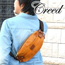 For creed creed bodybag 456508 men men ladies cowhide leather body bag leather magazine