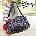 Disney Disney! 2-way Boston bag (large) 8370 school excursion trip ladies for women students