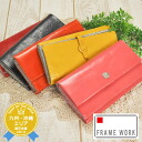 Frameworks FRAME WORK! Wallet 47015 ladies women's wallet purse coin purse and leather