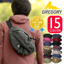 Gregory GREGORY! Waist bags body bag mens Womens West porch