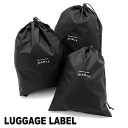 Yoshida Kaban ラゲッジレーベル LUGGAGE LABEL! Laundry bag 955 – 08952, Noh men's women's travel