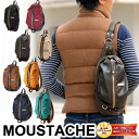 Moustaches MOUSTACHE! Body bag shoulder bag diagonally over bag YSY-5230 mens Womens one shoulder