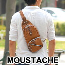Moustaches MOUSTACHE! Body bag shoulder bag diagonally over bag YVO-8928 mens Womens one shoulder