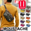 Moustaches moustache body bag EXE8467 bag West porch men's women's