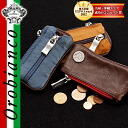 Orobianco Orobianco! Key cases & coin 3022n coins put zipper purse popular brand mens Womens gift leather
