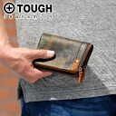 Tough TOUGH! Two fold wallet 68562 mens men's wallet purse coin purse, and folded wallet Magazine posted on smart