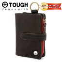 Tough TOUGH! Two fold wallet 55963 mens men's two folding purse coin purse Wallet case and popular brands