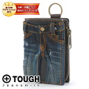 Tough jeans TOUGH JEANS two fold wallet ( pennies put removed-friendly ) 68323 tough tough fold wallet men's popular brand