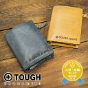 Tough TOUGH! Two fold wallet 68773 mens folding wallet leather leather [store]