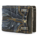 Tough TOUGH 2 fold wallet fold wallet 68321 purse wallet purse men's tough