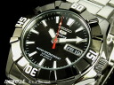 5 SEIKO Made in Japan reimportation model SEIKO sports self-winding watch SNZF61J1 black watches