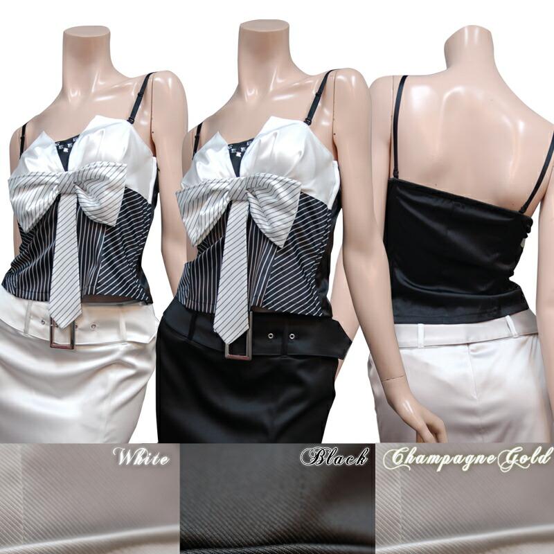 レディース スーツ【Eika|エイカ】キャミソールにキュートなデザイン☆スタンダードなテーラードカラーに前スリットを入れたスカートスーツ3color