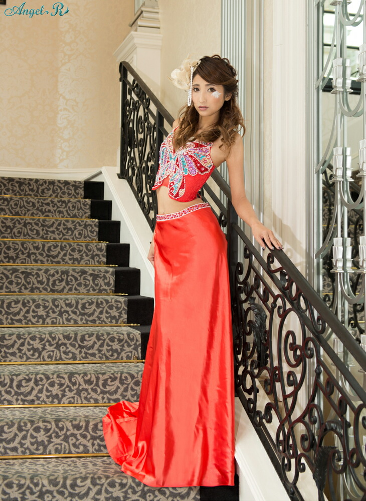【Angel R|エンジェルアール】大人気エンジェルアールのバタフライモチーフドレス!!パールとビーズ刺繍のついたセットアップタイプです☆