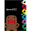 Domo-Kun clear file 5 p B handle large or-even-point pop a five-Pocket clear file is.