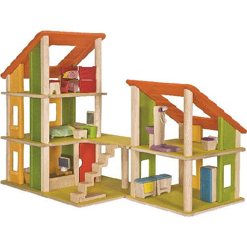 プラントイ 家具付きシャレードールハウス2