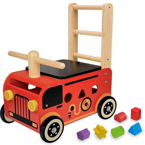 アイムトイ ウォーカー&ライド 消防車