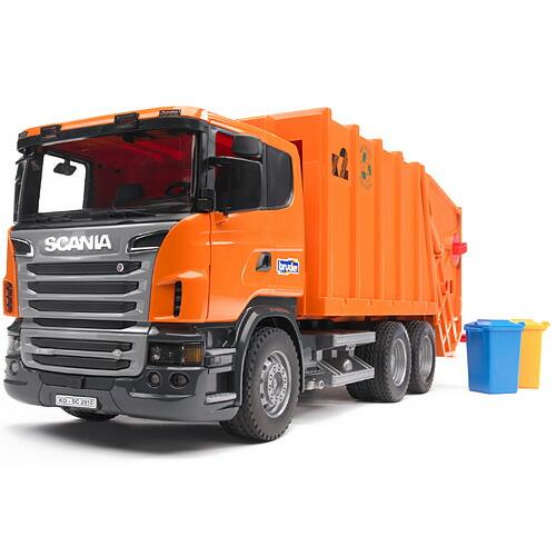ブルーダー社 プロシリーズ SCANIA ごみ収集車(orange)