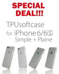 超お値打ち品 透明なiPhone6s/6用TPUケース