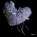 A frill pretty ring pillow finished product handicraft wedding wedding ceremony gift is available