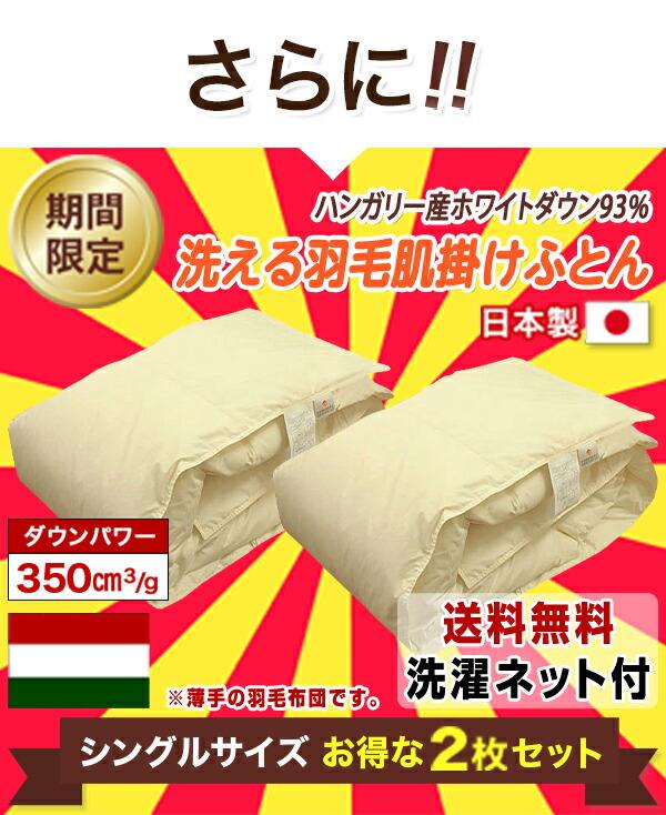 2枚セットが今だけ800円引きの14800円