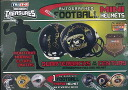 2013 HIDDEN TREASURES AUTOGRAPHED FOOTBALL MINI HELMETS