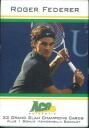 ACE ROGER FEDERER GLAND SLAM SET ロジャーフェデラー grand slam tennis card set