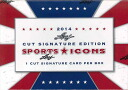 2014 LEAF SPORTS ICONS CUT SIGNATURE EDITION